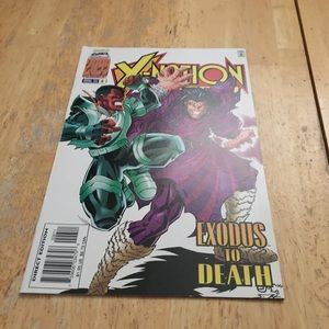 Other - X-nation 2099 exodus or death comic